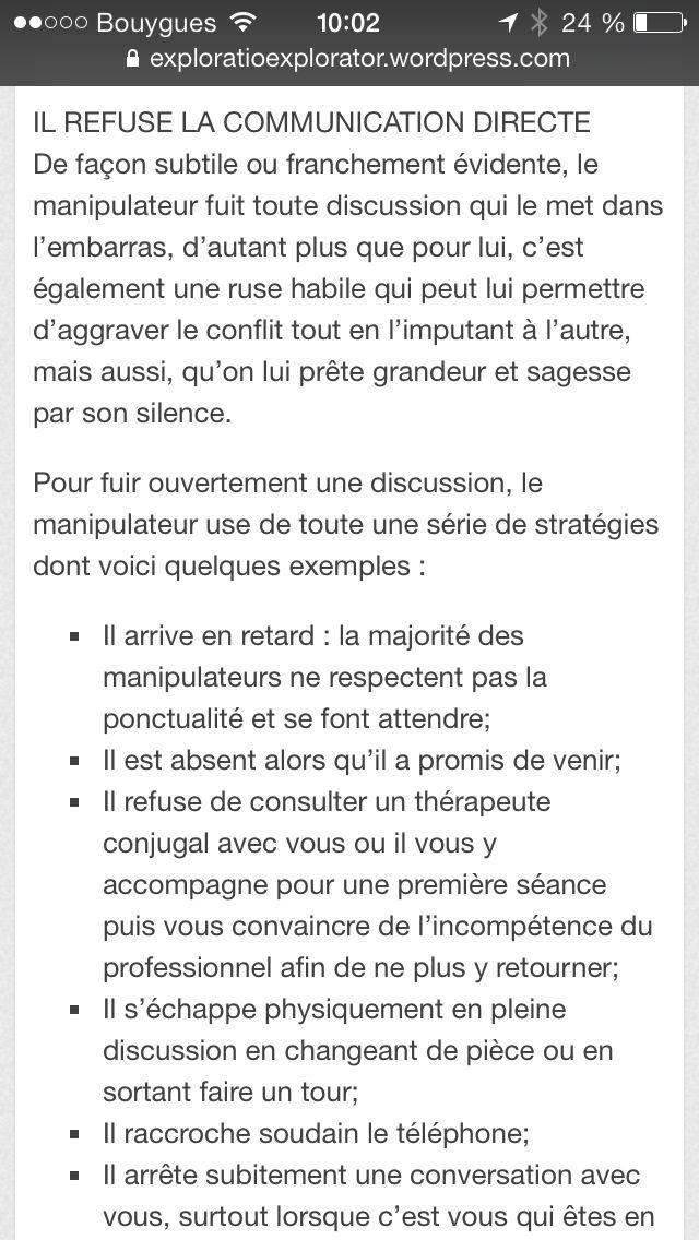 La Communication Des Pervers Narcissiques Le Point 3 Est Delirant Personne N Est Jamais Assez Bon P Narcissique Pervers Narcissique Manipulateur Narcissique