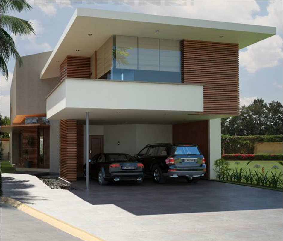 Casa moderna estilo minimalista fachadas pinterest for Casas minimalistas