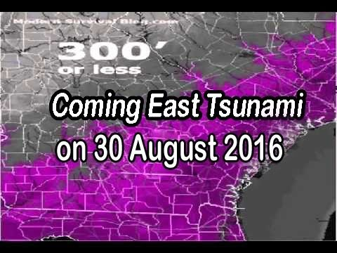 COMING EAST COAST TSUNAMI PROPHECY on 30 August 2016