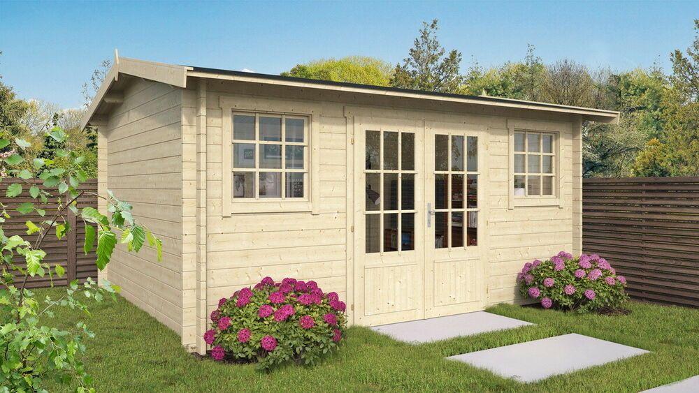 Details zu Topgarden Gartenhaus NORA; 450x350 cm ISO; 40