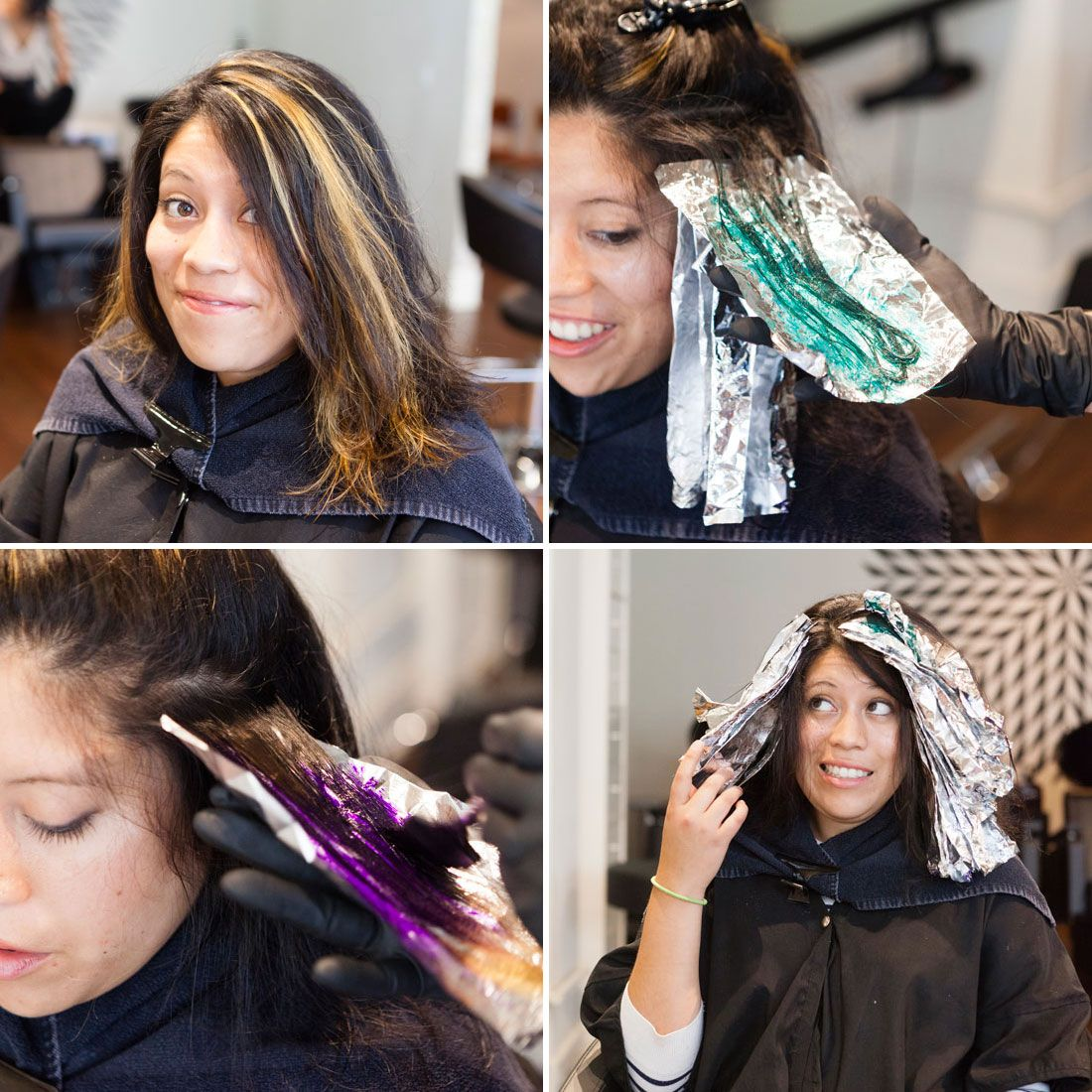 Oil slick hair trend oil slick hair slicked hair and hair trends this crazy new hair dye trend i tried finally lets brunettes have some fun oil slick solutioingenieria Choice Image