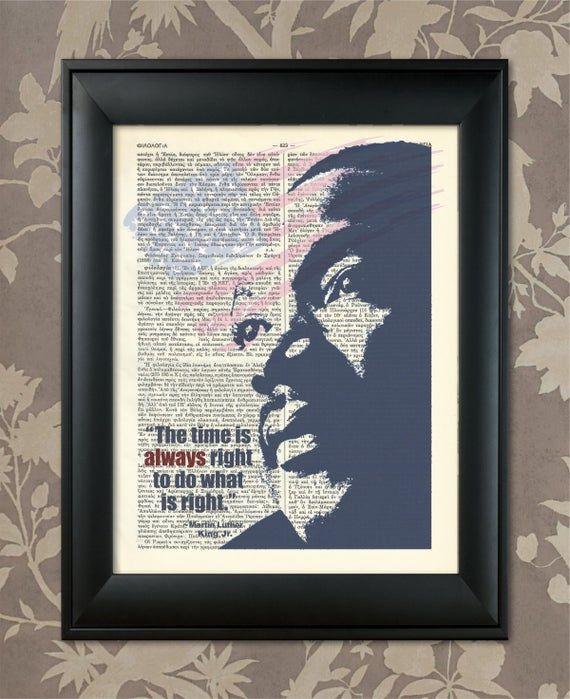 Martin Luther King, Saying, MLK Jr, MLK print, MLK Poster, Mlk art, Mlk quote, Mlk Jr Print, Mlk Jr Art, African American,Black lives matter