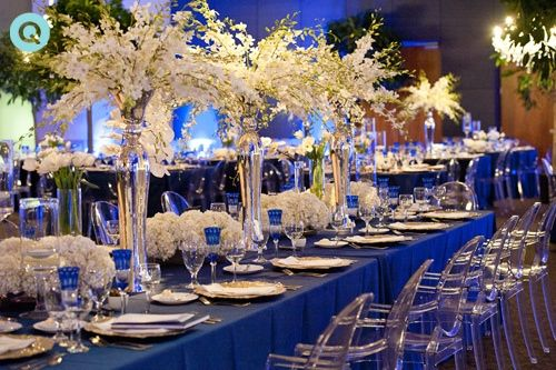 Wedding With White Gold And Blue Details Grace Ormonde