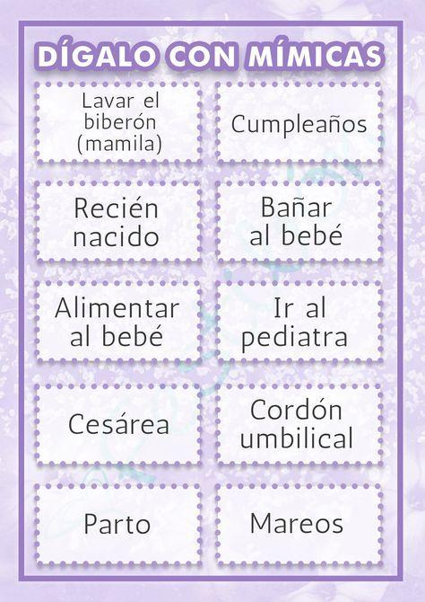Resultado De Imagen Para Juegos Para Baby Shower Mixto Baby