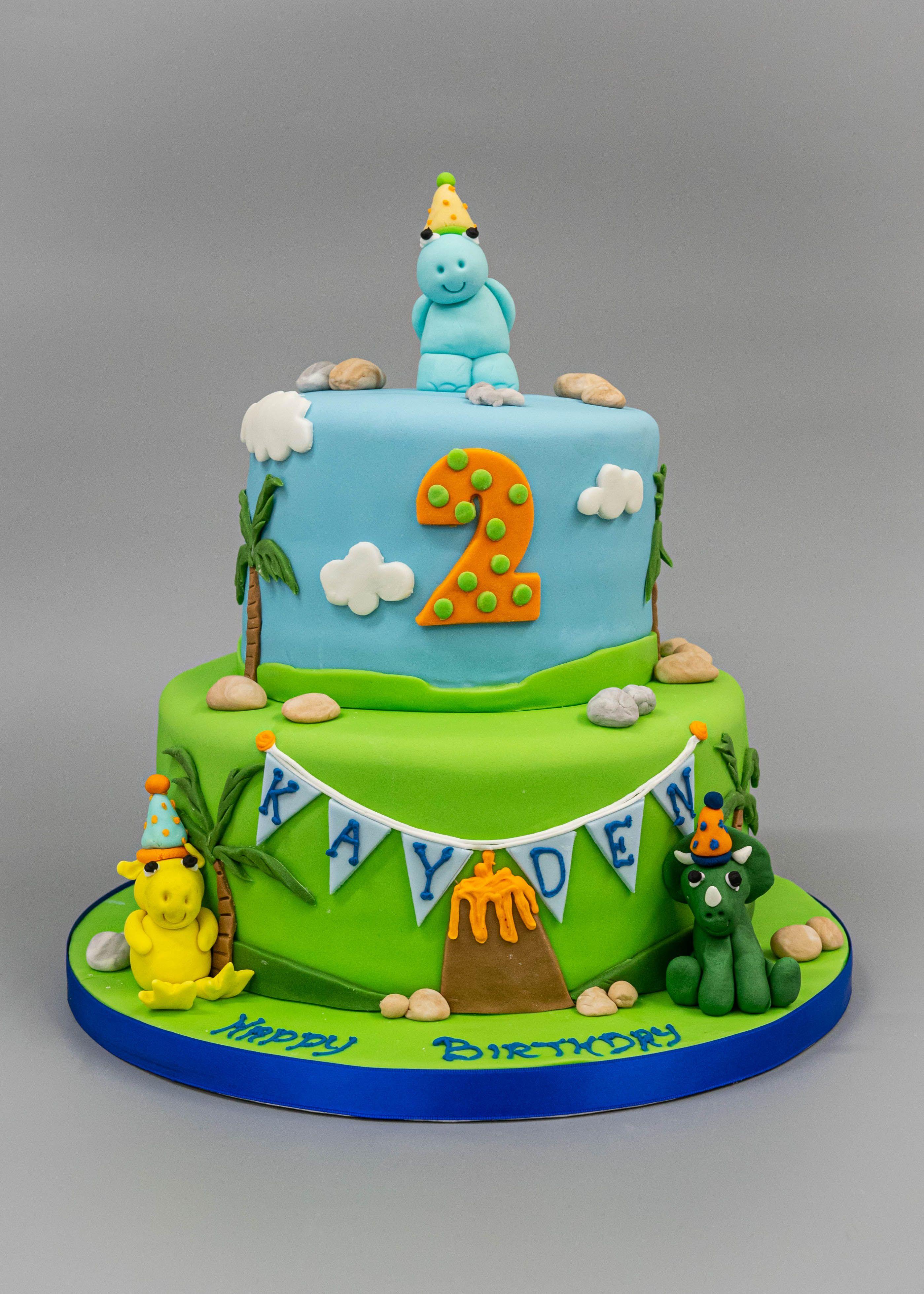 Baby dinosaur birthday cake dinosaur birthday cakes