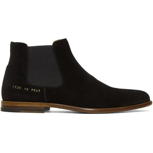 Leather Boots - BlackCommon Projects DAiTSAs