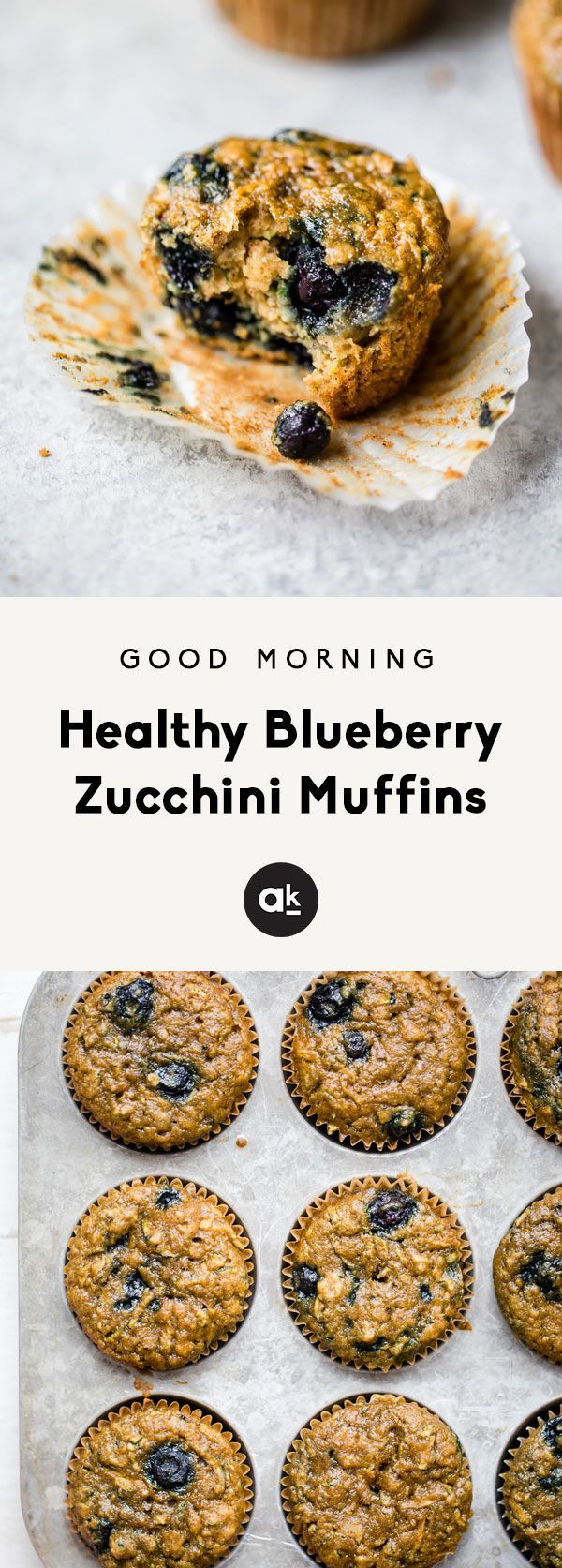 Healthy blueberry zucchini muffins made extra moist thanks to zucchini and applesauce! Naturally sweetened with pure maple syrup instead of sugar. Great for snacking & freezer-friendly too! blueberry zucchini muffins made extra moist thanks to zucchini and applesauce! Naturally sweetened with pure maple syrup instead of sugar. Great for snacking & freezer-friendly too!