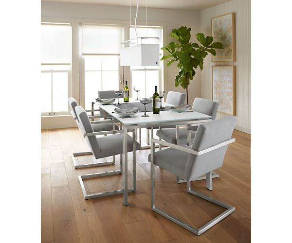 lira chair in stainless steel - chairs - dining - room & board, Esszimmer dekoo