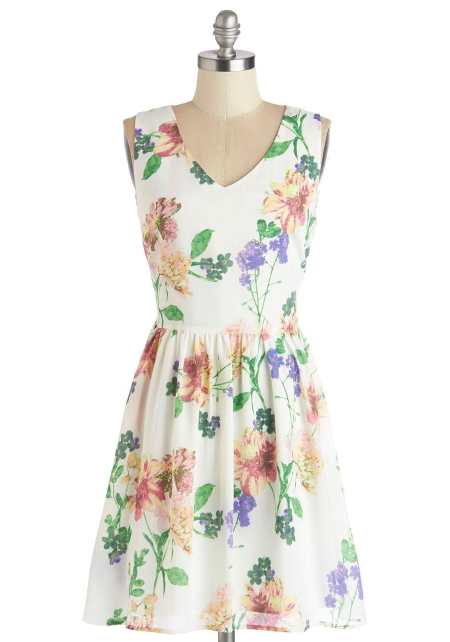 Spring forward, and dress fresh! #floral #modcloth
