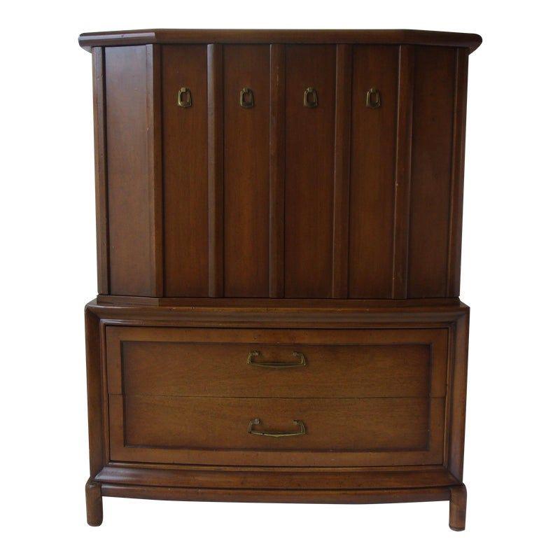 Best Mid Century Walnut Highboy Dresser Mid Century Mid 400 x 300