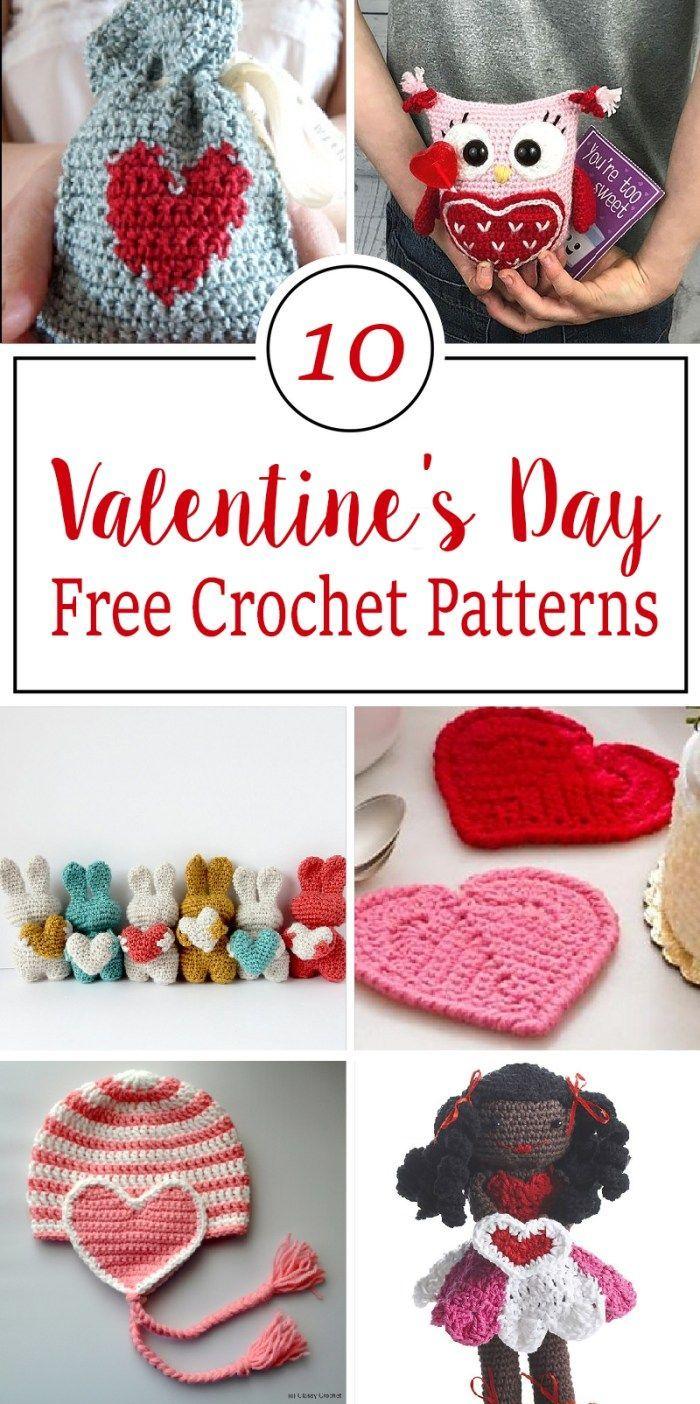 Free Crochet Patterns For Valentines Day Knitty Crochet Yarns
