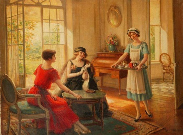 Albert Lynch 1851-1912   pintor peruano   Belle Époque