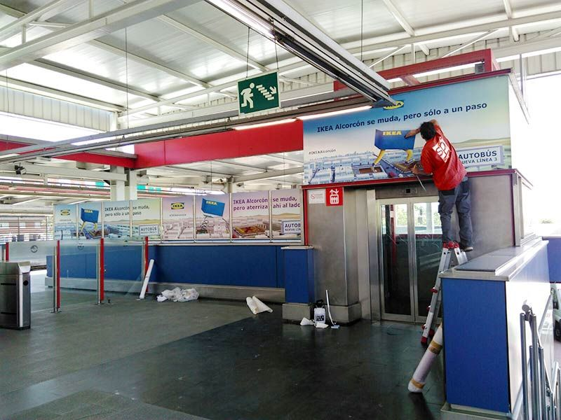 Grupo Spi Vinilos Para Accion Especial Inauguracion Ikea Alcorcon