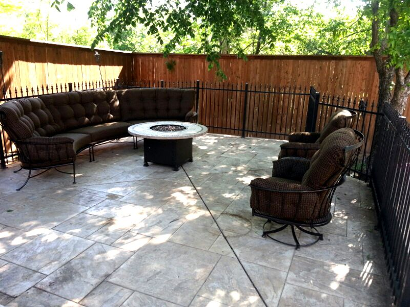 Monterra Sectional And Swivel Rocker Lounge Chairs From O.W. Lee   Patio  Furniture   Fire Pit
