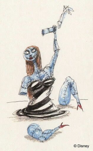 Tim Burton Nightmare Before Christmas Artwork.Tim Burton S The Nightmare Before Christmas Concept Art