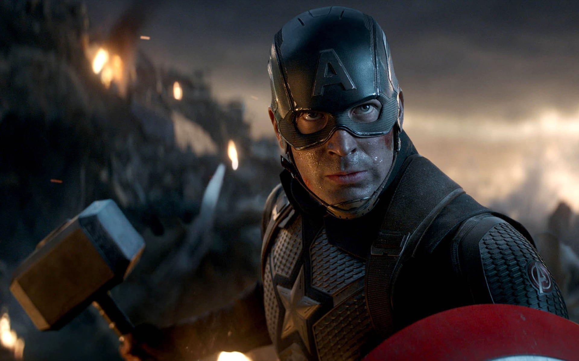 Avengers Endgame Captain America Marvel Cinematic Universe 1080p Wallpaper Hdwallpaper Desktop In 2020 Marvel Studios Movies Marvel Cinematic Avengers