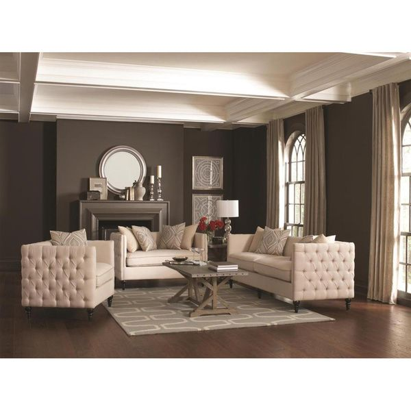 Neutral Living room. Sophisticated but comfy living room featuring ...