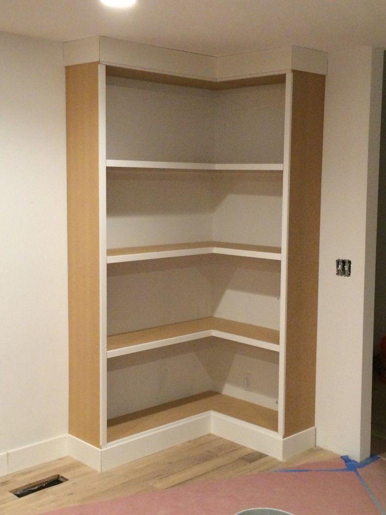 DIY Corner Bookcase (video) (withHEART) | furniture renos ...