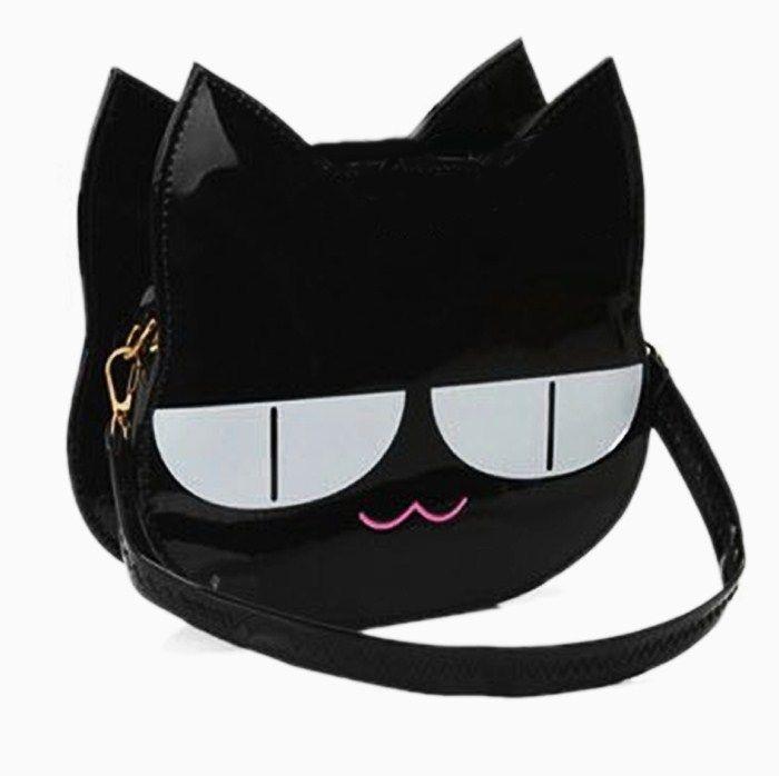 Cute Rare Black Cat Shoulder Bag  3fe0d7fce6cd7