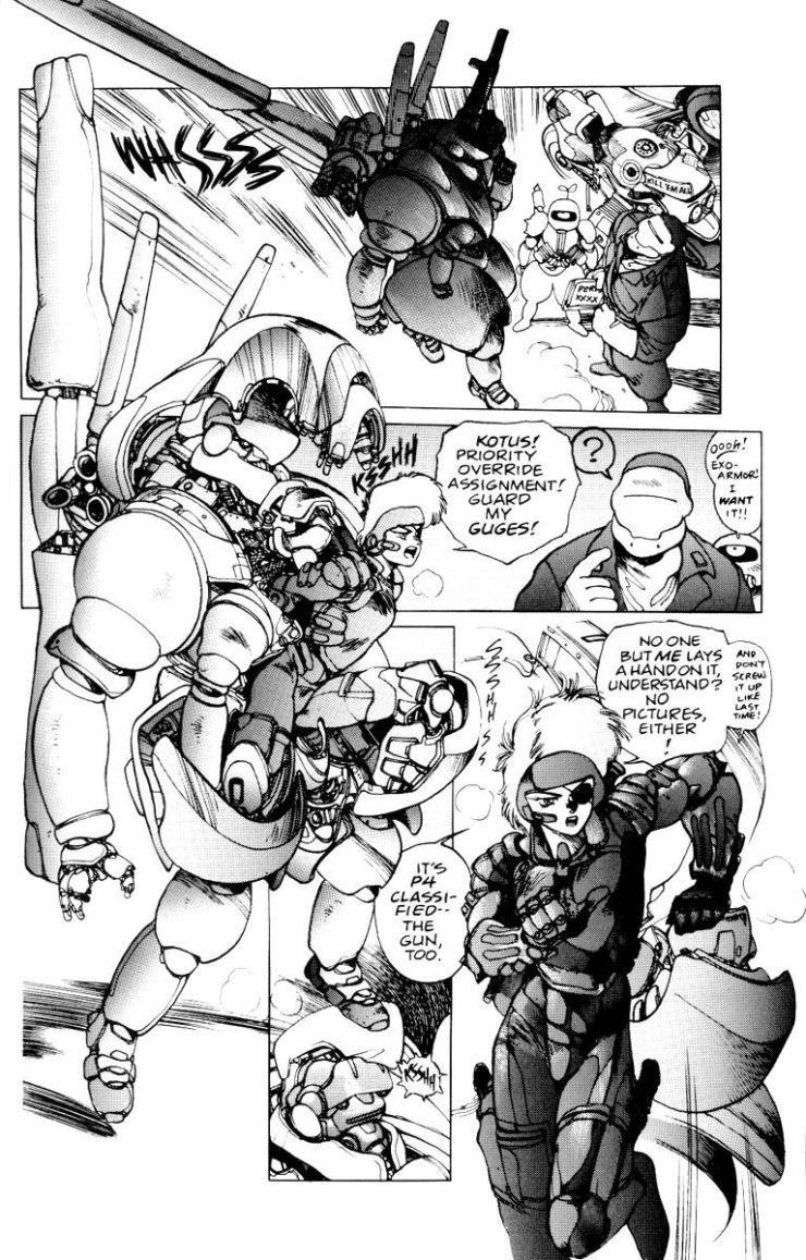Armor 1 Masamune Shirow Manga Art Manga Artist