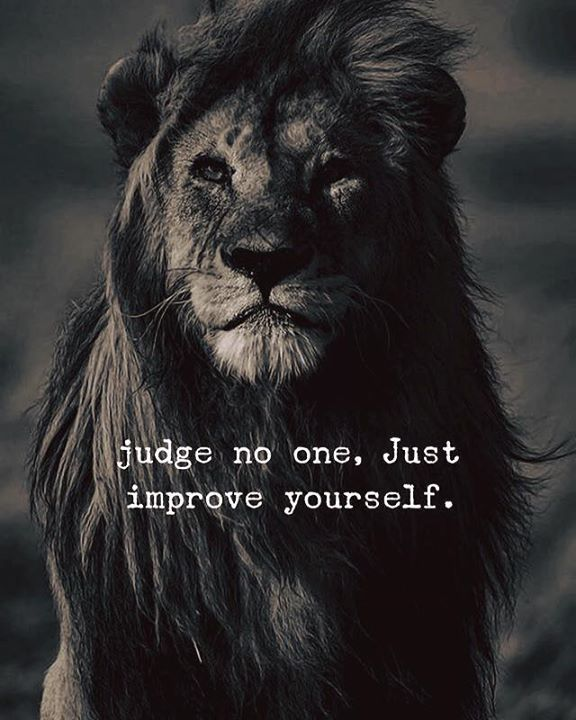 Inspirational Positive Quotes :Judge no one..