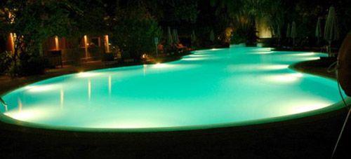 21 Beautiful Swimming Pool Lighting Ideas | Schwimmbecken ...