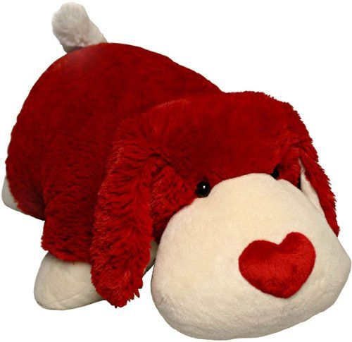 Pillow Pets As Valentine Day Gifts Valentine Cat Or The Luv Pup Under 20 Animal Pillows Dog Valentines Animal Dolls