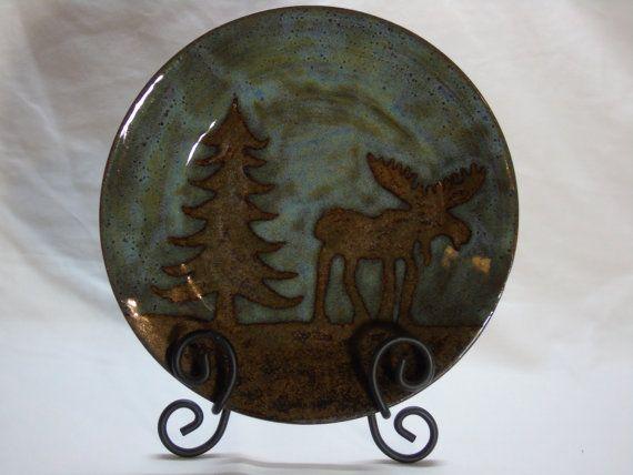 Moose Plate ?? FloatingBlueDesigns ?? Etsy & Moose Plate ?? FloatingBlueDesigns ?? Etsy | Moose Plate | Pinterest