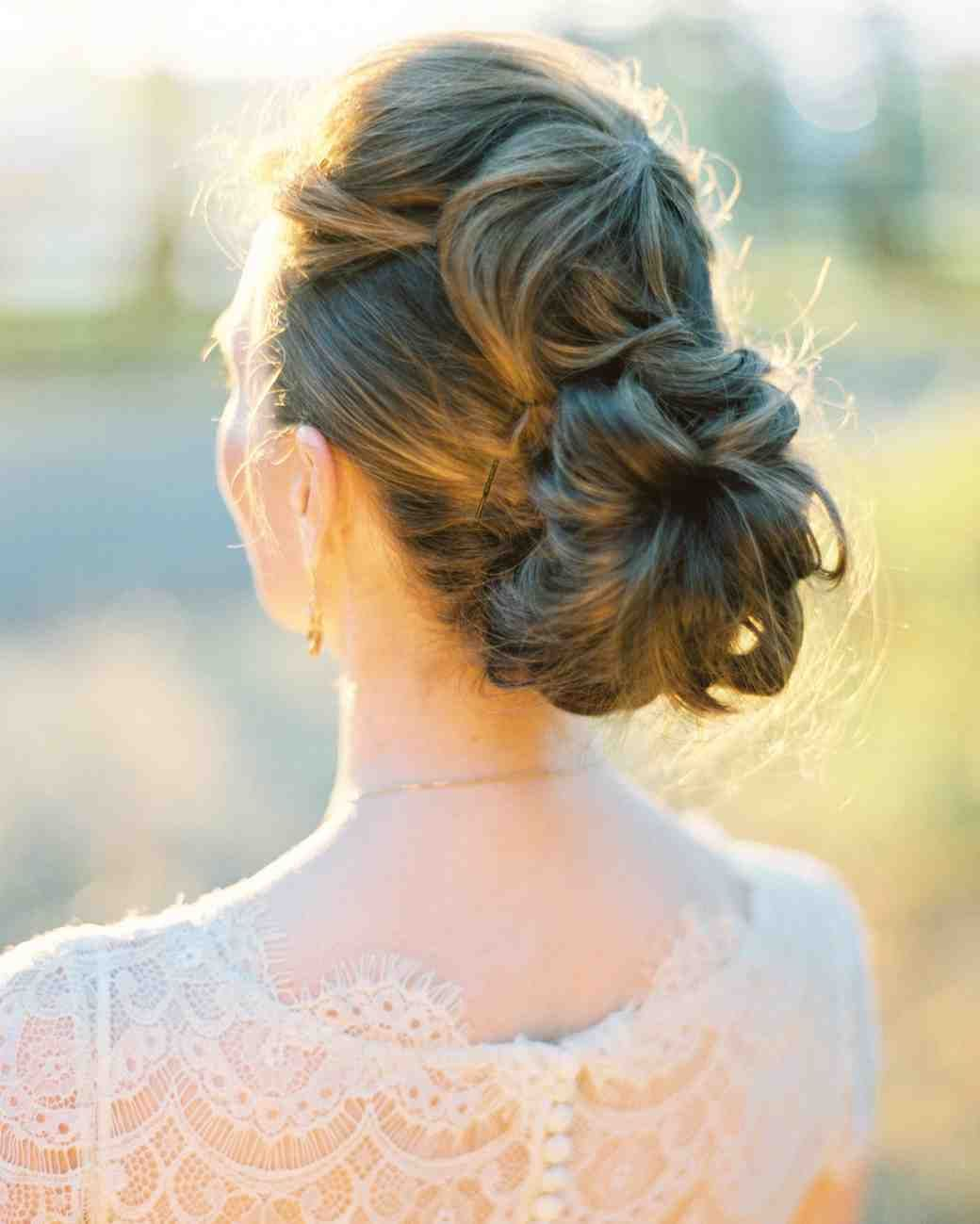 25 Simple Wedding Updos Hairstyle That Will Make You So