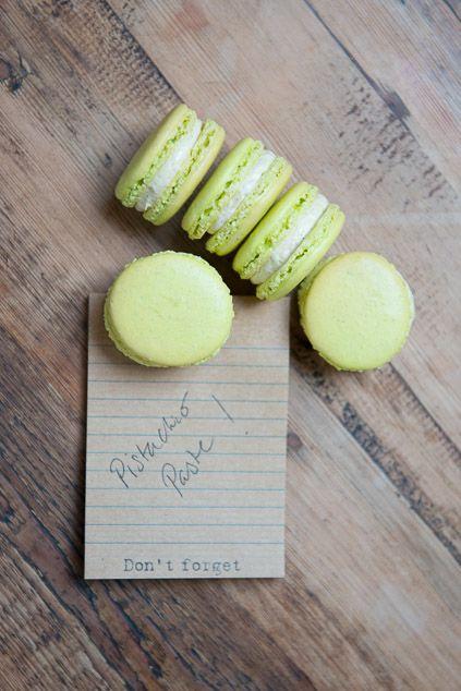 Pistachio Macarons Recipe -Bureau of Taste