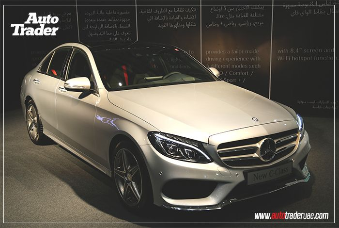 The new #Mercedes C-class arrived! - #AutomotiveNews on #AutoTraderUAE  Read the full article: http://www.autotraderuae.com/news/the-new-c-class-arrived/2826/