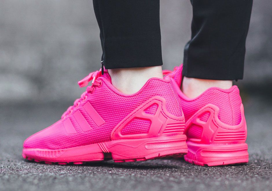 Hot Pink Is A Good Look For The adidas ZX Flux And Tubular