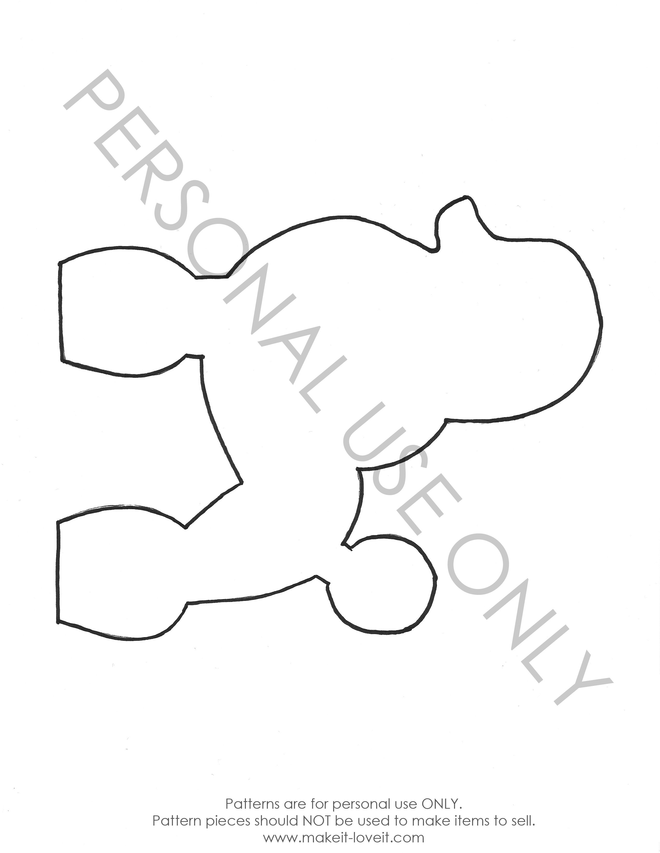Free Pattern Pieces Fabric Doll Pattern Poodle Applique Templates Free