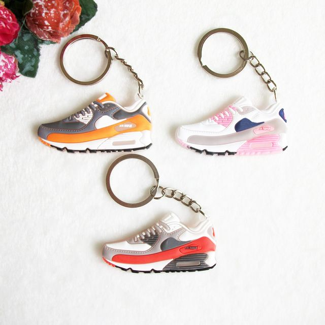Mini Silicone Airer 90 Keychain Bag Charm Woman Men Kids Key