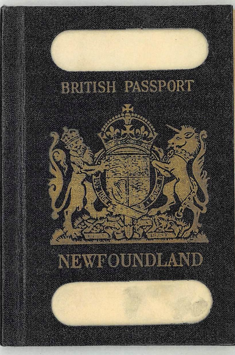 From colony of newfoundland to the dominion of