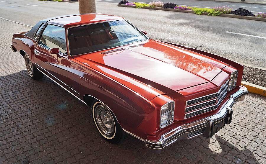 1976 Chevrolet Monte Carlo Two Tone Decor Group Chevrolet Monte