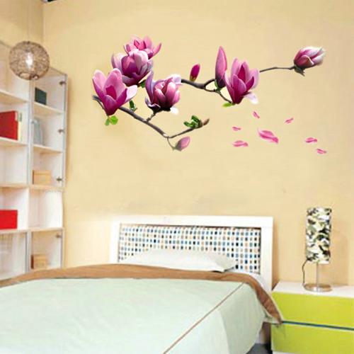 Wandtattoo Wandaufkleber Wandtatoo Magnolie | Magnolien | Pinterest
