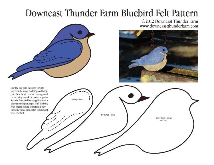 Erstaunlich fühlte Handwerk, Vögel .. Sprechen Sie mit LiveInternet ...