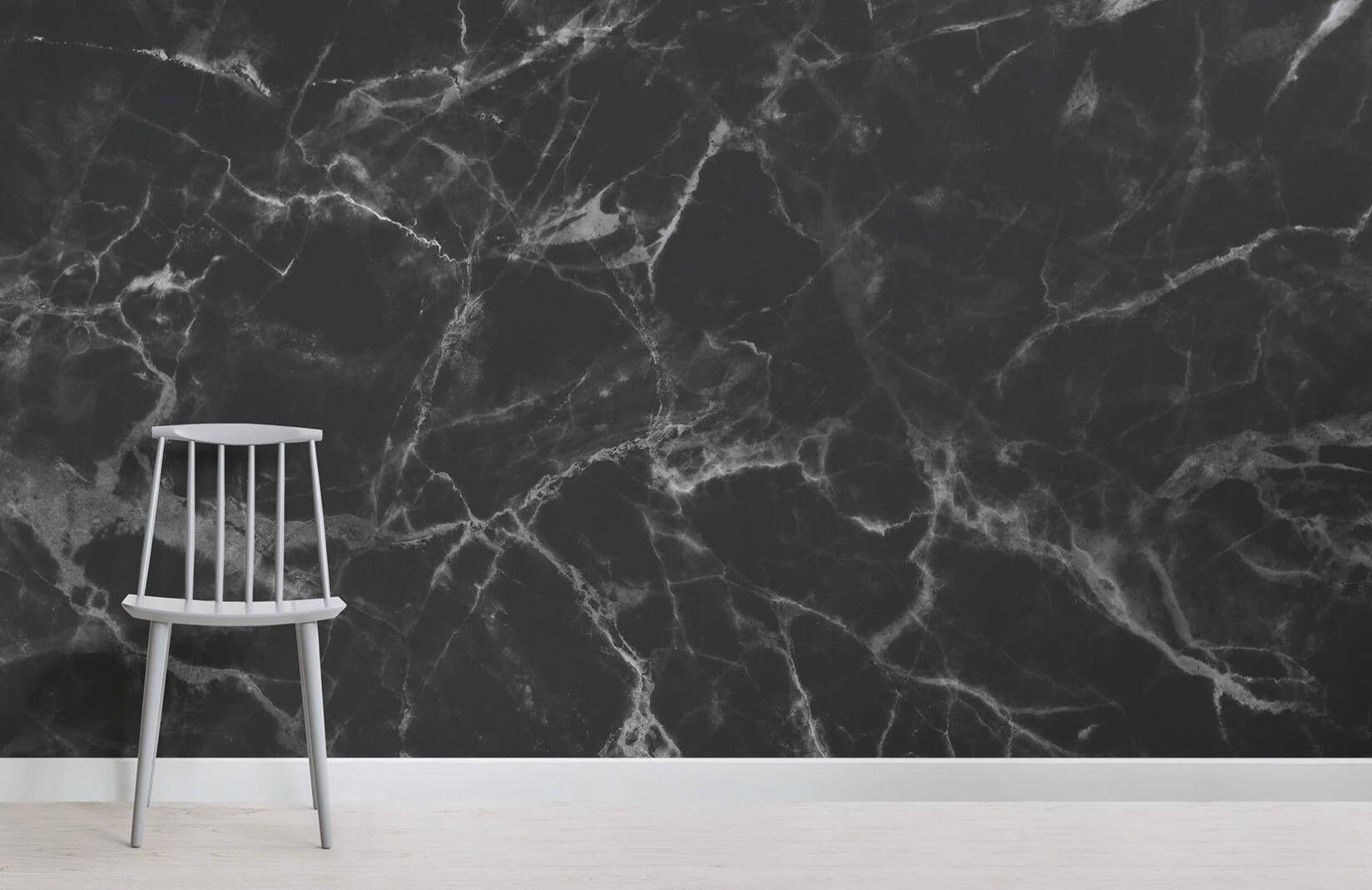 Black Marble Wallpaper Mural Murals Wallpaper Grey Marble Wallpaper Marble Wallpaper Black Marble