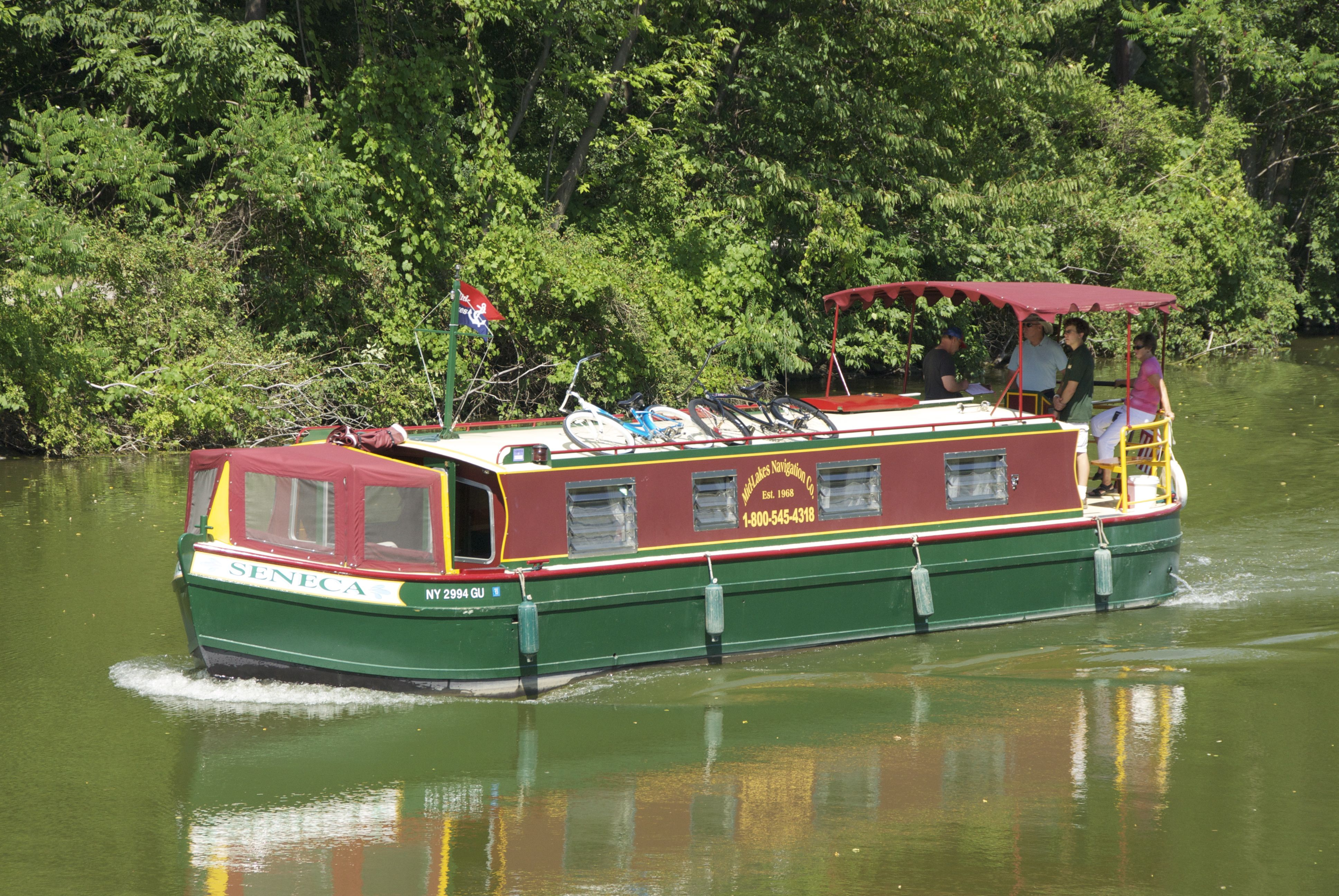 Erie canal adventures in 2020 boat rental canoe rental
