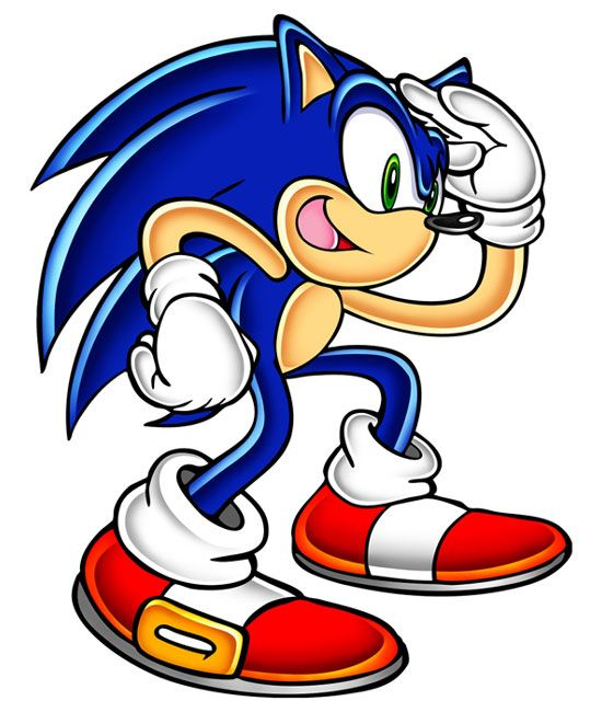 Sonic Looking Sonic Sonic Adventure Adventure Art