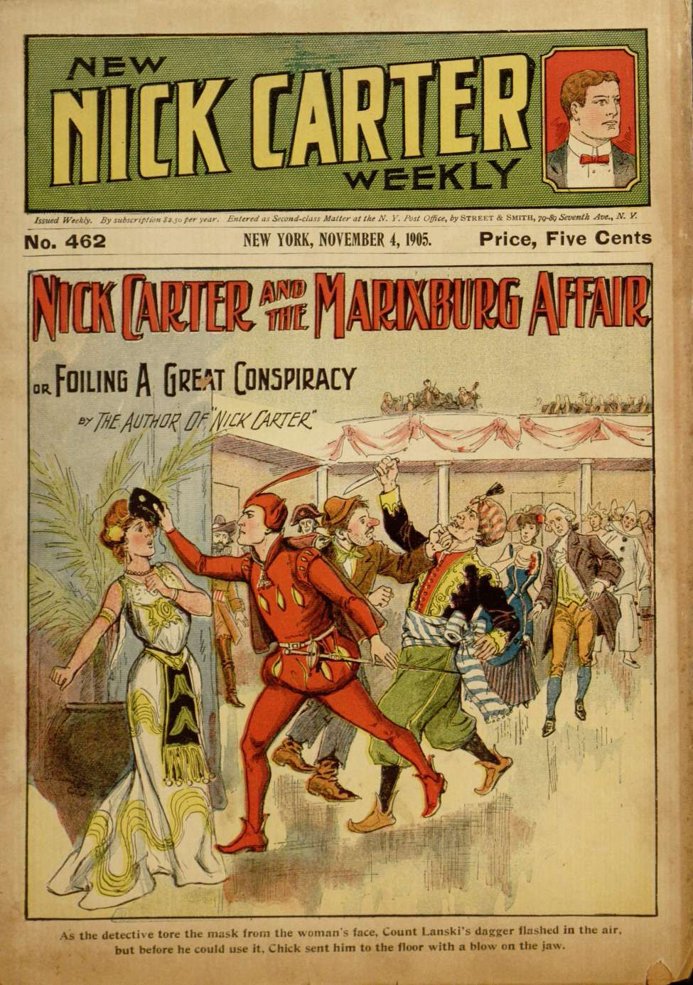 New Nick Carter Weekly, November 1905 Artère