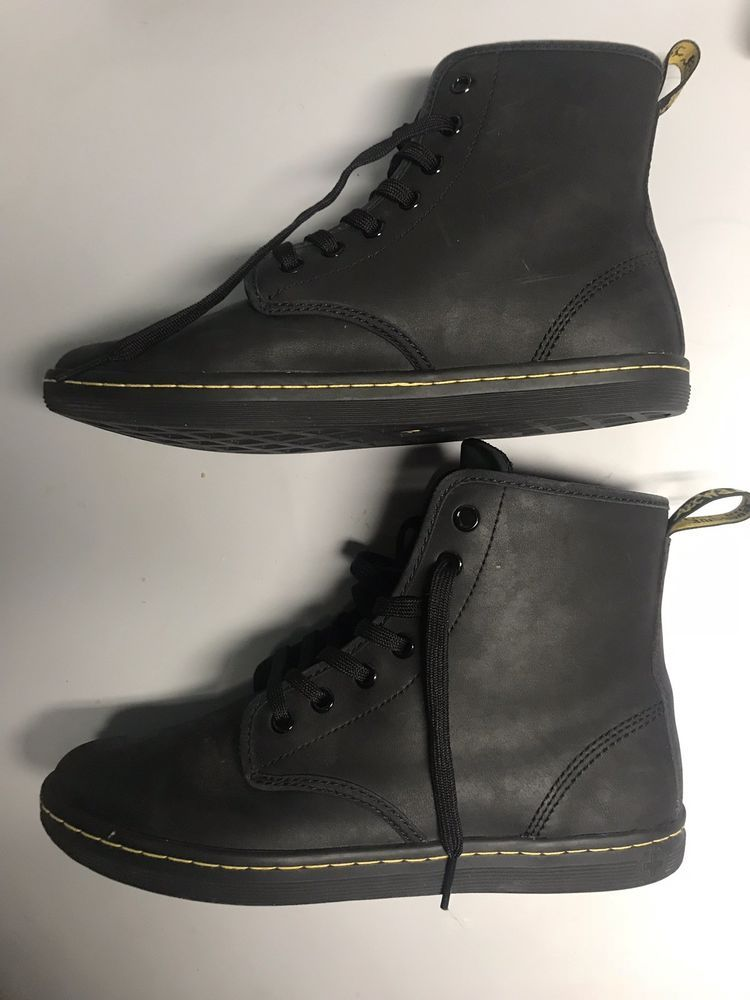 533da7b962d Dr Martens Shoreditch Greasy Womens boot US 8 UK 6 Black Greasy ...