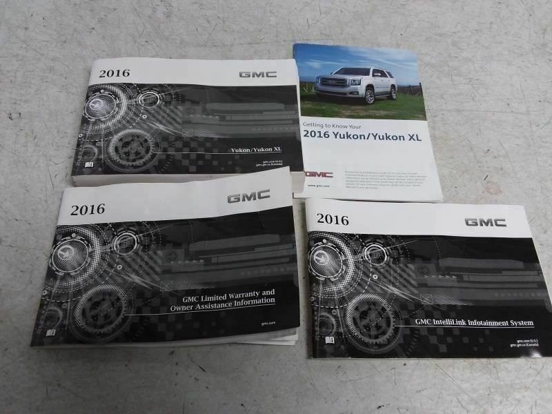 Ebay Sponsored Yukon 2016 Owners Manual 795745 Manual Ebay