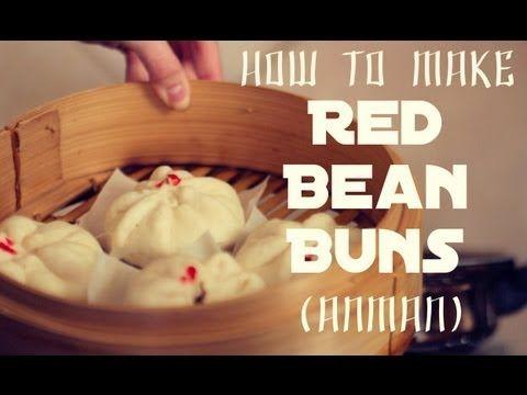 ▶ Red Bean Buns あんまん (Anman) - YouTube