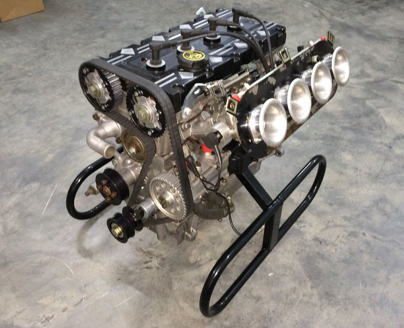 5L Millington Diamond engine, 16v twin cam based on the YB ...