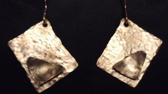 Copper Earrings by Evarel on Etsy, €35.00