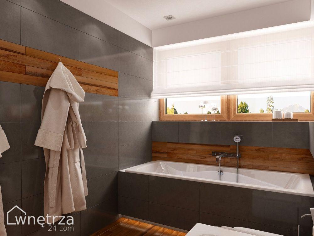 łazienka Minimalistyczna Black Onyx łazienki Wnetrza24com