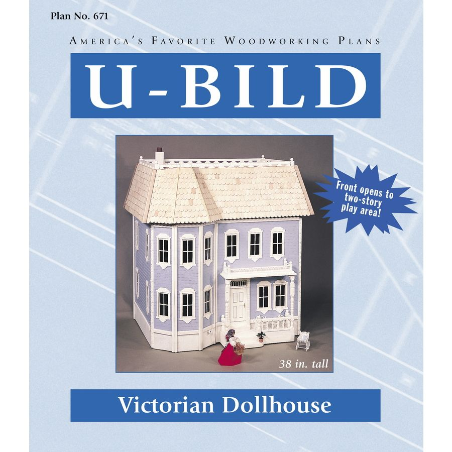 U Bild Victorian Dollhouse Carpentry and Woodcraft Book