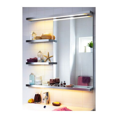 Morgon Bathroom Lighting Ikea Provides An Even Light That Is Good For Illuminating Around A Mirror And Sink